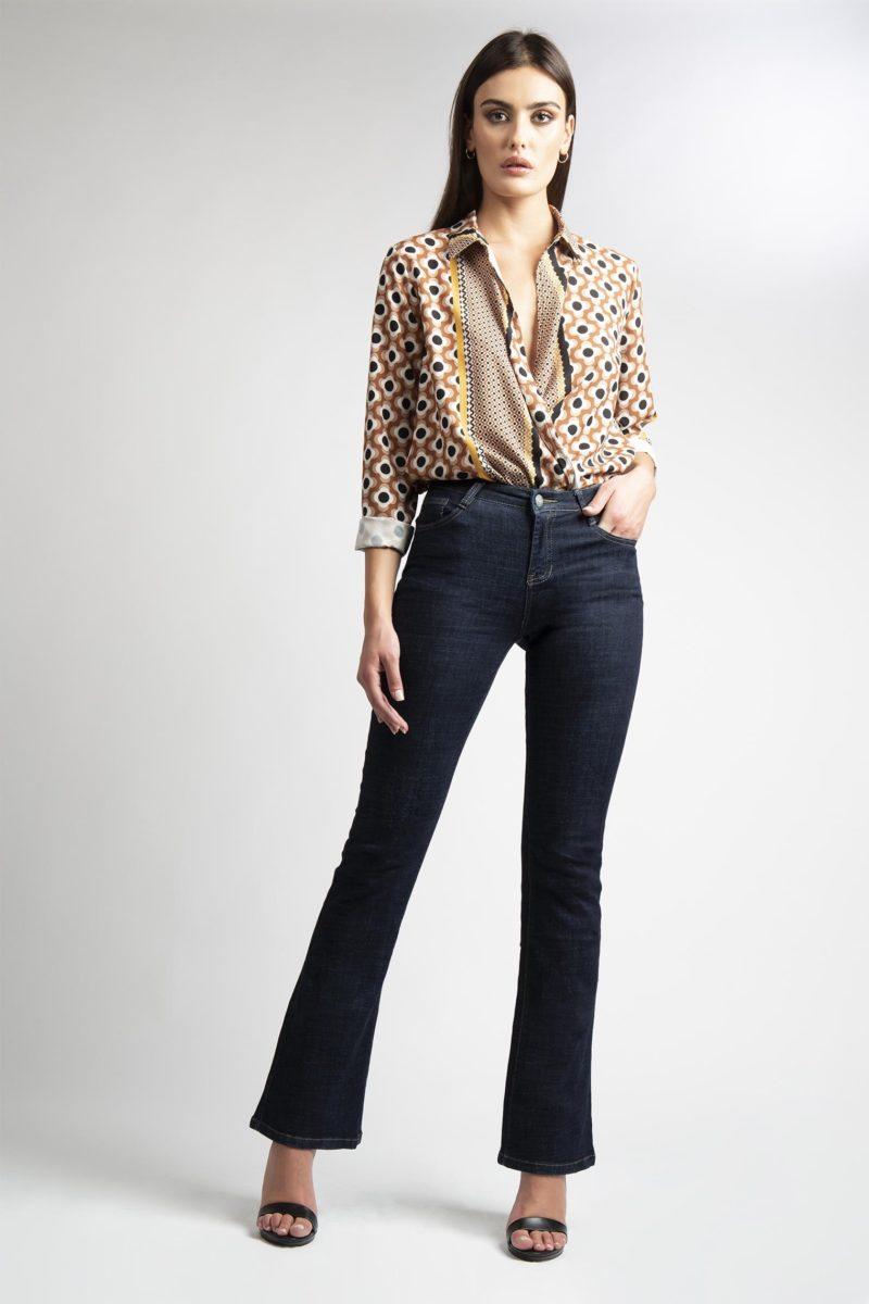 Jeans zampa 5 tasche vita regolare IMG_8256
