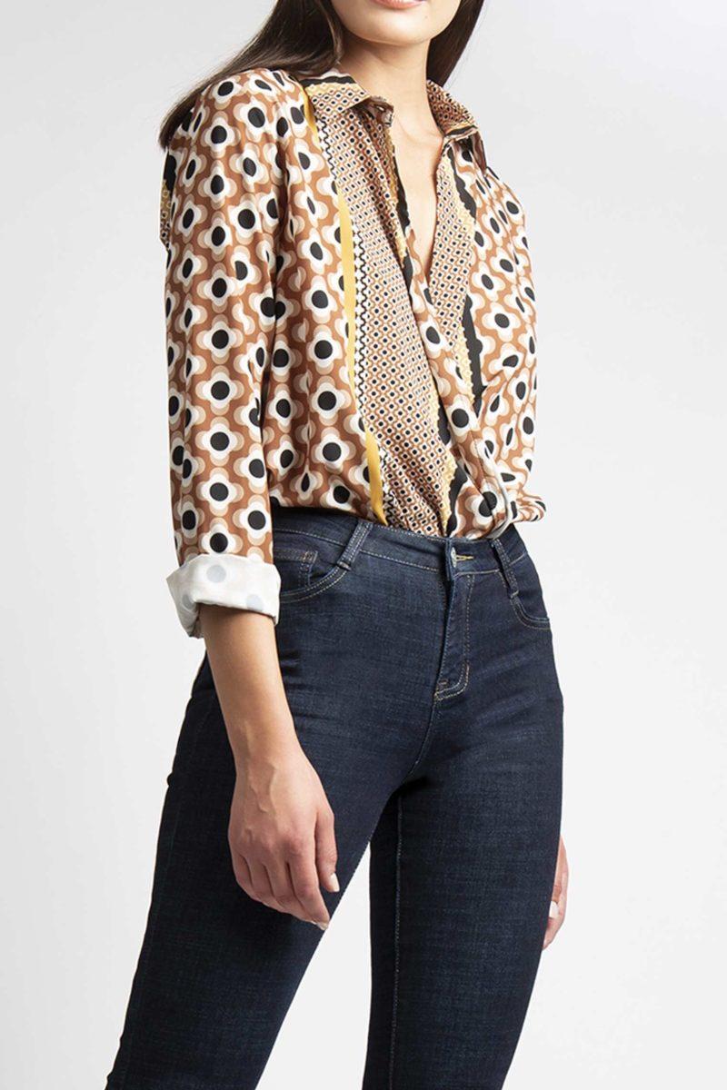 Jeans zampa 5 tasche vita regolare IMG_8257