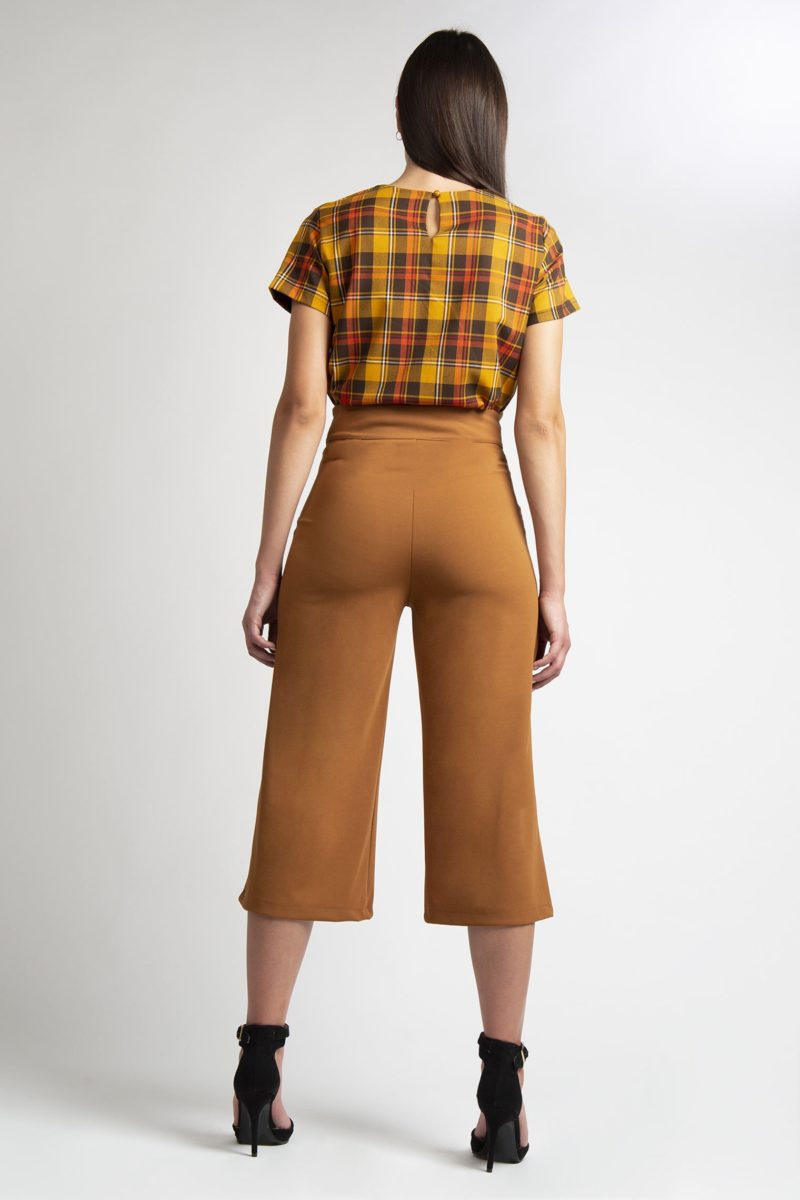 Pantalone ampio vita alta IMG_8366
