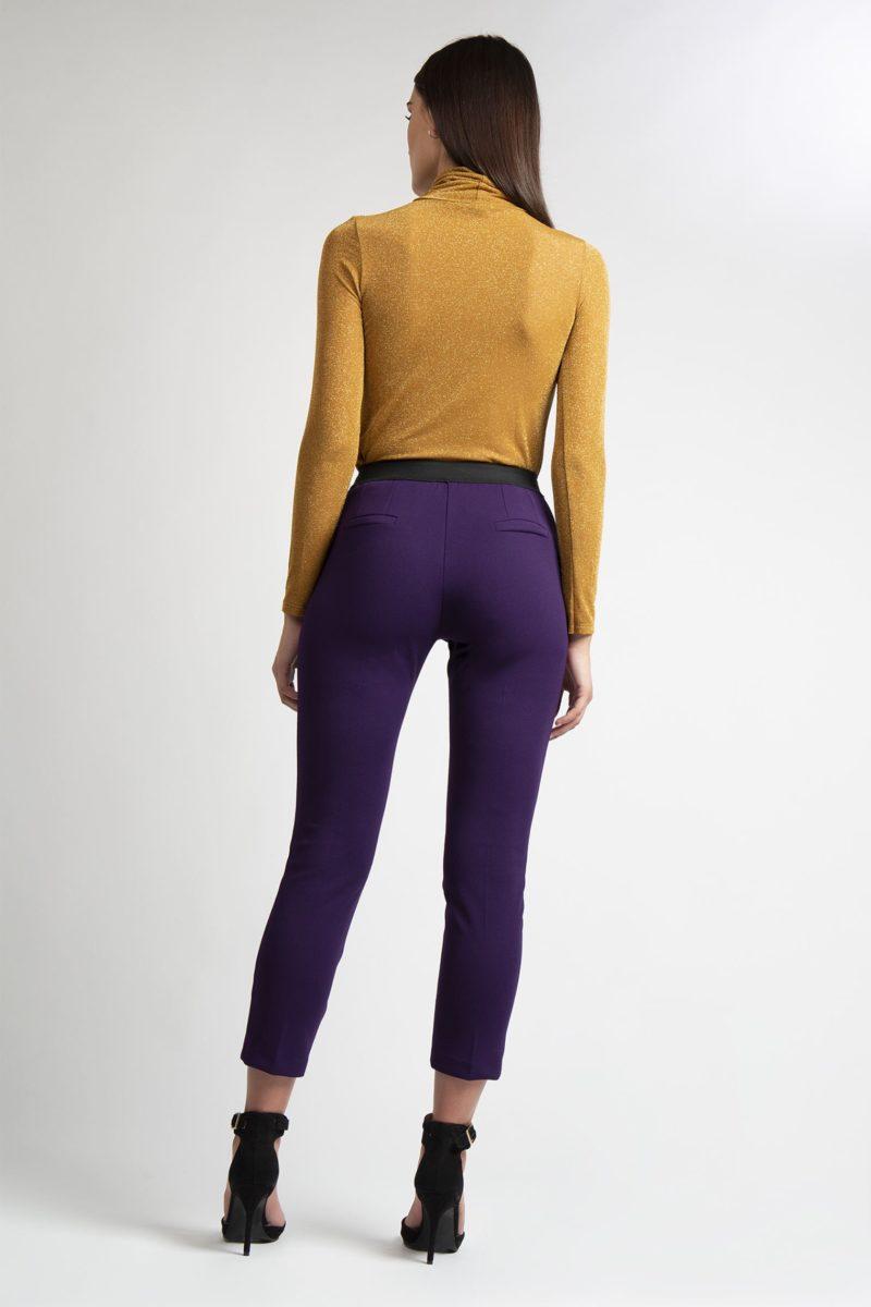 Pantalone con tasche banda laterale a contrasto IMG_8345
