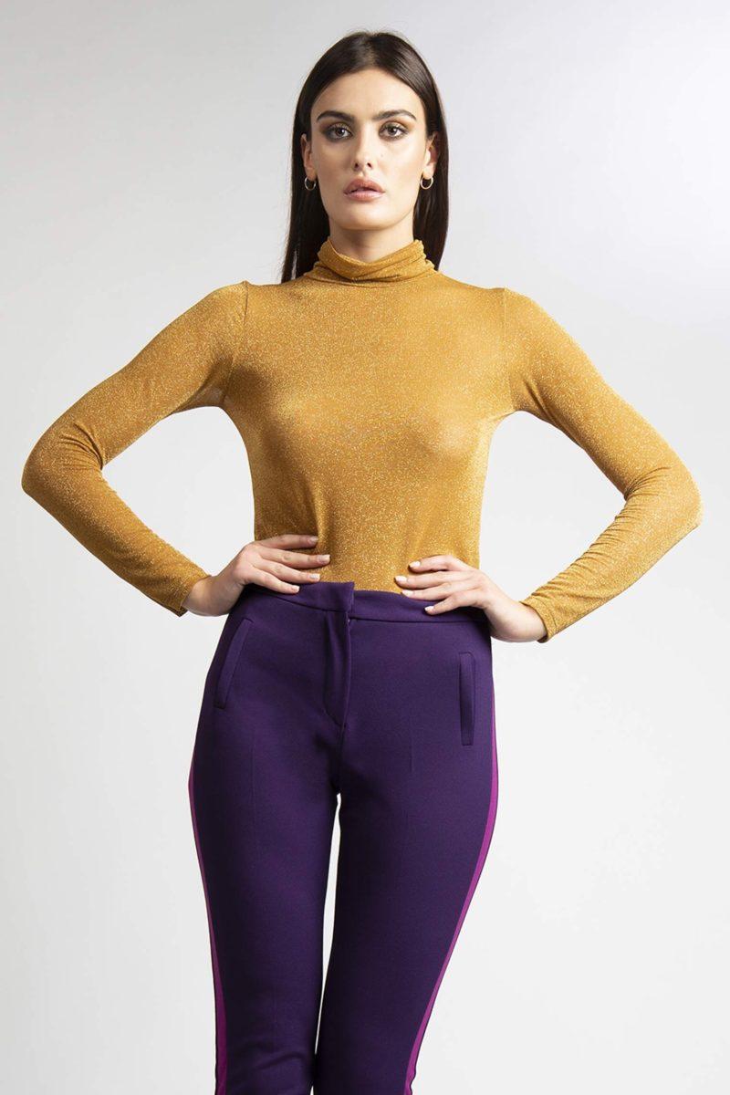 maglia lurex stretch